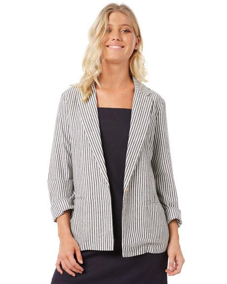 STRIPE WOMENS CLOTHING ELWOOD JACKETS - W83502-A7B