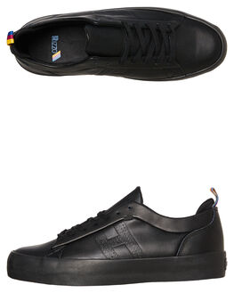 BLACK MENS FOOTWEAR HUF SNEAKERS - VC00081-BLK