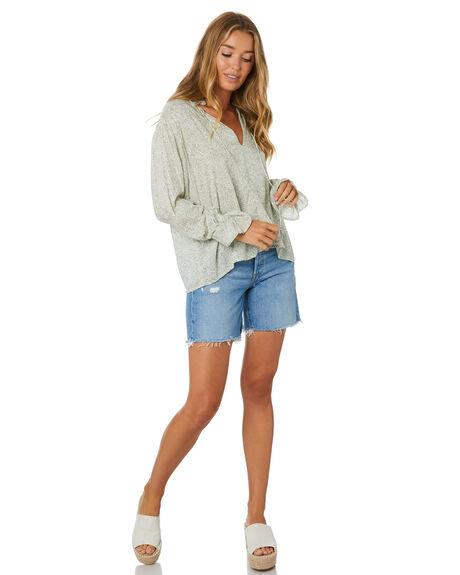 SAGE FLEUR WOMENS CLOTHING LILYA FASHION TOPS - RVT2056-FL