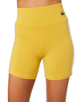 VINTAGE YELLOW WOMENS CLOTHING STUSSY ACTIVEWEAR - ST183612VYEL