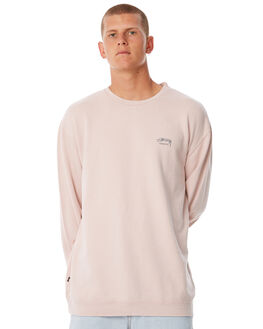 DUSTY PINK MENS CLOTHING STUSSY JUMPERS - ST085201DPINK