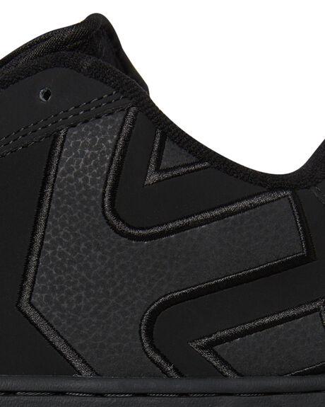 BLACK DIRTY WASH MENS FOOTWEAR ETNIES SNEAKERS - 4101000203013
