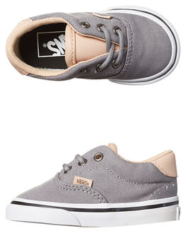 FROST GRAY WHITE KIDS TODDLER BOYS VANS FOOTWEAR - VN-A38ECMN6GRY