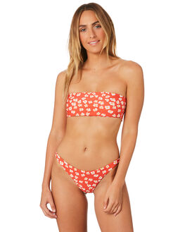 RED PRINT OUTLET WOMENS INSIGHT BIKINI SETS - 5000003378RED