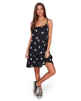 BLACK WOMENS CLOTHING BILLABONG DRESSES - BB-6592496-BLK