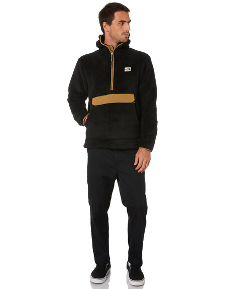 BLACK BRITISH KHAKI MENS CLOTHING THE NORTH FACE JUMPERS - NF0A3YRSWVW