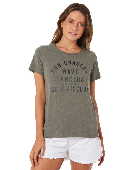 OLIVE MARLE WOMENS CLOTHING RIP CURL TEES - GTEXY19163