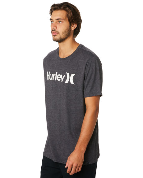 BLACK HEATHER MENS CLOTHING HURLEY TEES - AH7935035