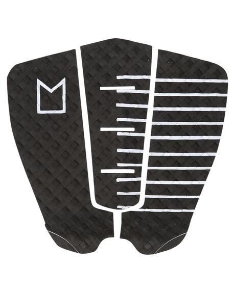 BLACK WHITE SURF HARDWARE MODOM TAILPADS - MOTRCABKWHT