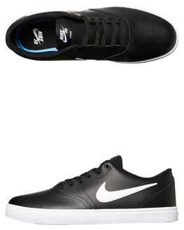 BLACK WHITE WOMENS FOOTWEAR NIKE SNEAKERS - SS843895-006W