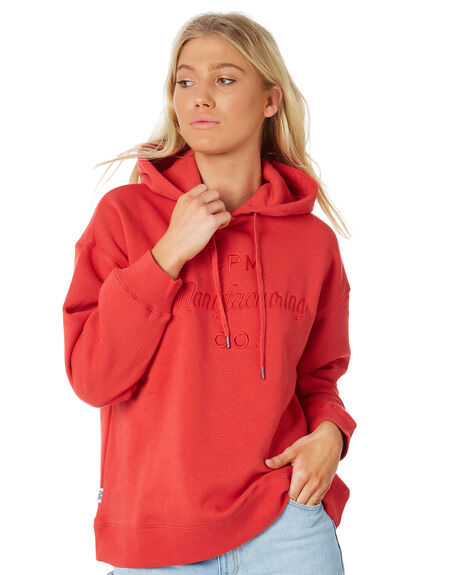 RED WOMENS CLOTHING RPM JUMPERS - 8WWT10BRED
