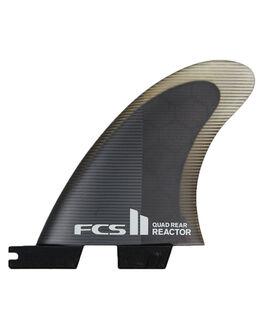CHARCOAL BLACK BOARDSPORTS SURF FCS FINS - FREA-PC04-RS-RCHBLK