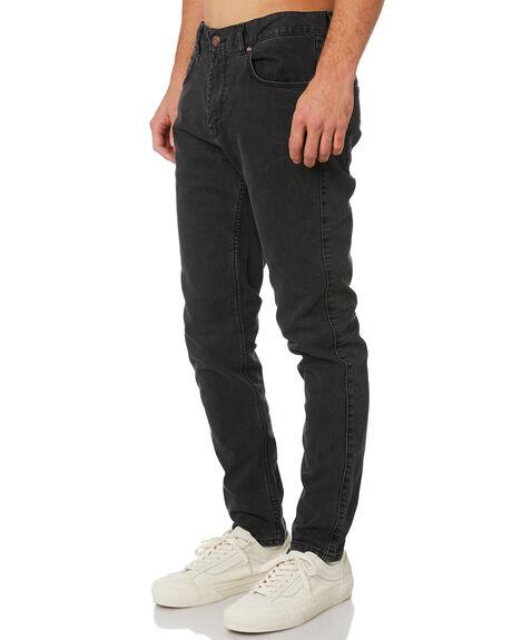 BLACK VINTAGE MENS CLOTHING DR DENIM JEANS - 1330125-121