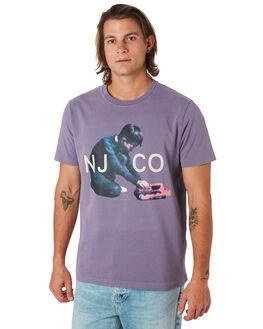 LILAC MENS CLOTHING NUDIE JEANS CO TEES - 131673P02