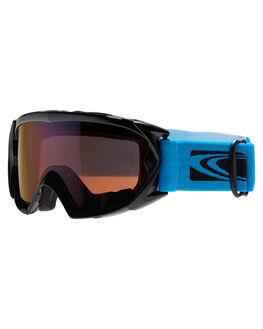 BLUE BLUE REVO SNOW ACCESSORIES CARVE GOGGLES - 6013BLUBL