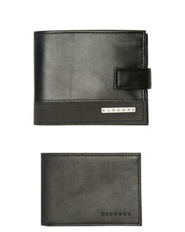 BLACK MENS ACCESSORIES RIP CURL WALLETS - BWLIG10090