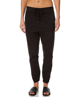 BLACK WOMENS CLOTHING RUSTY PANTS - PAL0970BLK