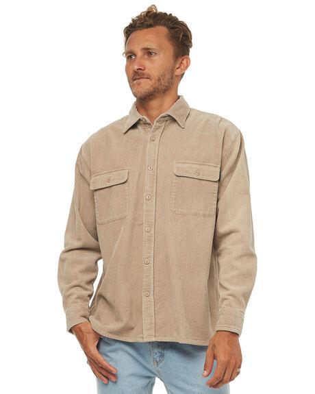 LIGHT FENNEL MENS CLOTHING RUSTY SHIRTS - WSM0807LFN