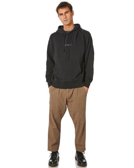 BLACK MENS CLOTHING THRILLS JUMPERS - TH20-222BBLK
