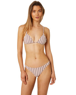 STRIPE WOMENS SWIMWEAR TIGERLILY BIKINI TOPS - T395591STRP