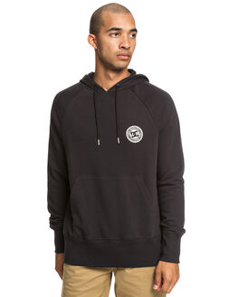BLACK MENS CLOTHING DC SHOES JUMPERS - EDYFT03432-KVJ0