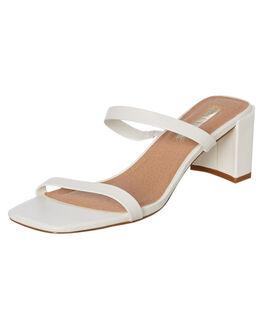 WHITE WOMENS FOOTWEAR BILLINI HEELS - H1295WHT