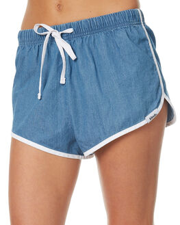 WINTAGE BLUE WOMENS CLOTHING AFENDS SHORTS - 52-01-093VTGBL