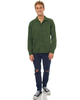 GRASS MENS CLOTHING NUDIE JEANS CO SHIRTS - 140501G25