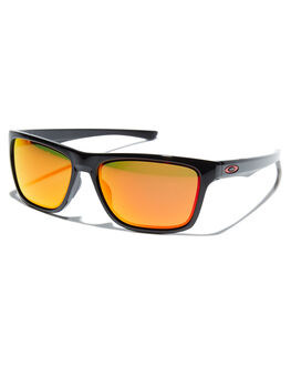 POLISHED BLACK RUBY MENS ACCESSORIES OAKLEY SUNGLASSES - OO9334-1258PBLKR