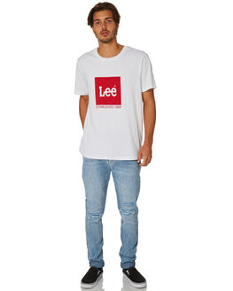 JAGGER BLEACH MENS CLOTHING LEE JEANS - L-606437-KG6JBLCH