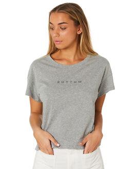 GREY MARLE WOMENS CLOTHING RHYTHM TEES - JUL19W-PT02GRYMA