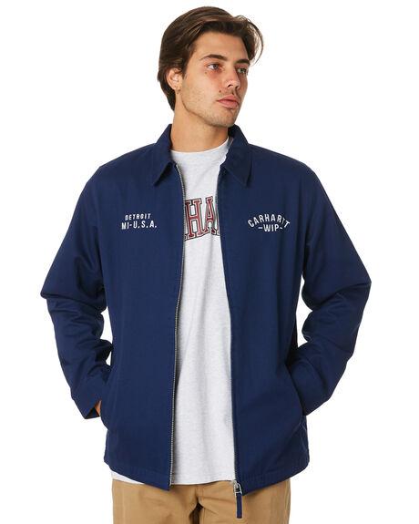 METRO BLUE MENS CLOTHING CARHARTT JACKETS - I026019S0