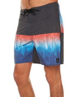 BLACK BLUE MENS CLOTHING RIP CURL BOARDSHORTS - CBOOV10107