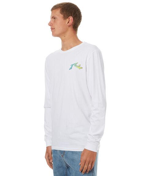 WHITE MENS CLOTHING RUSTY TEES - TTM1897WHT
