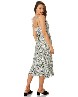 EMERALD POSY FLORAL WOMENS CLOTHING RUE STIIC DRESSES - RWS-19-23-1EMRPS