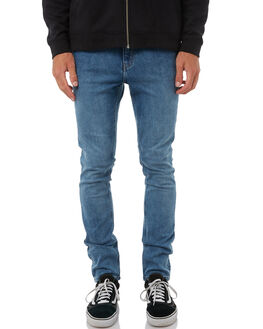 FAIR BLUE MENS CLOTHING CHEAP MONDAY JEANS - 0500626FAIRB