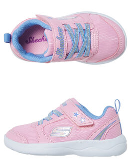 LIGHT PINK KIDS TODDLER GIRLS SKECHERS FOOTWEAR - 82118NLTPK