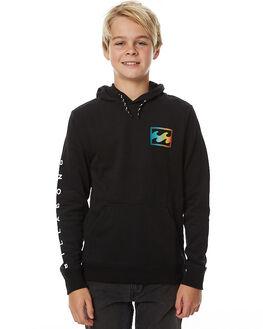 BLACK KIDS BOYS BILLABONG JUMPERS - 8575614BLK
