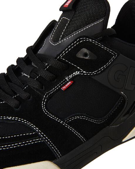 BLACK MENS FOOTWEAR GLOBE SNEAKERS - GBTILTEVO10661