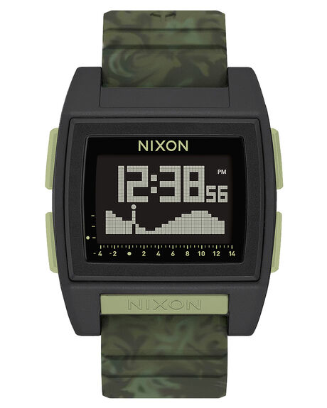 GREEN CAMO MENS ACCESSORIES NIXON WATCHES - A1307-1695