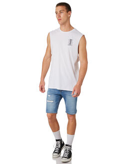 WHITE MENS CLOTHING SWELL SINGLETS - S5182274WHITE