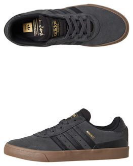 SOLID GREY MENS FOOTWEAR ADIDAS SKATE SHOES - DB3195SGRY