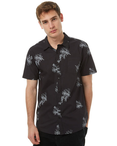 BLACK OUTLET MENS SWELL SHIRTS - S5174168BLK