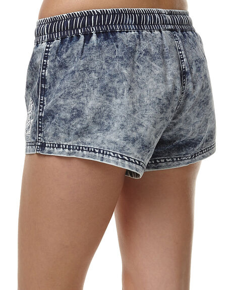 ACID DENIM WOMENS CLOTHING SANTA CRUZ SHORTS - SC-WWC6140ACDEN
