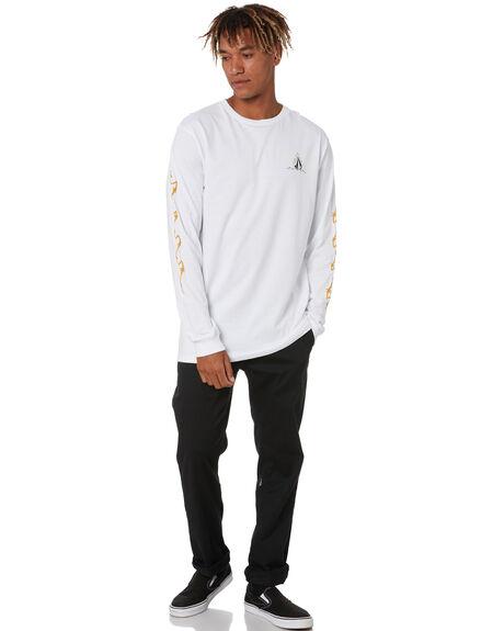 WHITE MENS CLOTHING VOLCOM TEES - A36320H0WHT