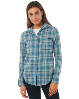 NOISE AQUA OUTLET WOMENS HURLEY FASHION TOPS - AGLS3WL4NH