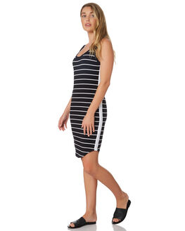 STRIPE WOMENS CLOTHING SILENT THEORY DRESSES - 6022002STR