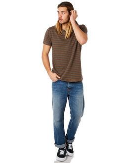 DESERT GREEN MENS CLOTHING NUDIE JEANS CO TEES - 131590C11