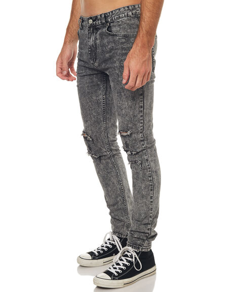 GREY MENS CLOTHING INSIGHT JEANS - 1000064837GRY