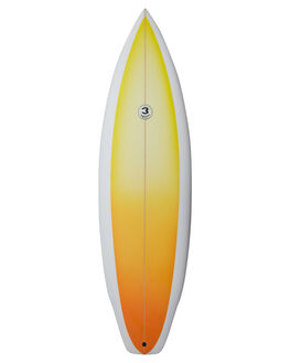 YELLOW FADE BOARDSPORTS SURF SIMON ANDERSON FUNBOARD - SAHSFSF3